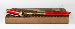 Conway Stewart Flame Red Fountain Pen (BenjaminCookDesigns) Tags: flame red fountain pen pens bespoke british conway stewart handmade mistal beaufort bock gift valentinesday