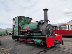 Lilla (edward_crabb) Tags: hunslet ffestinog rail railway engine narrowgauge wales porthmadog steam