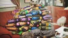 In case you wanted to know what 317 pounds of cat and dog food looks like. 🐈 🐕 🐾 #dumpsterdiving (Jenn ♥) Tags: ifttt instagram