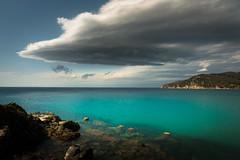 Quiet storm (luigig75) Tags: isola delba lenticular lenticolari nuvole frangiflutti clouds italia italy toscana tuscany sea seascape cloudscape 70d canonefs1022mmf3545usm