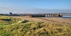 Old jetty, Instow (Aliy) Tags: oldjetty jetty pier instow devon oldpier northdevon wreck wreckedboat wreckedship boop ssboop marramgrass beach coast
