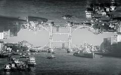 The World is upside down @londonlights (London Lights) Tags: londonlights theworldisupsidedown london lights londres londra tower bridge monochrome blackandwhite noiretblanc
