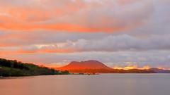Stavaneset Bjoafjorden mai -17 (bjarne.stokke) Tags: ølen ølsfjorden bjoafjorden solnedgang skyer stavanes rogaland sunset norway norge norwegen borgunøy