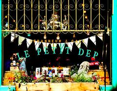 Le Petit Dep (Professor Bop) Tags: professorbop drjazz olympus em1olympusm75mmf18lens primelens vieuxmontreal oldmontreal montrealquebeccanada street cafe depanneur coffeeshop architecture building structure