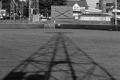 Light Post Shadow (BenG94) Tags: wisconsin canon canon60d 60d parkfalls northwoods blackandwhitephotography blackandwhite