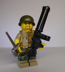 Weird War Marine Raider with Heavy MXA1 Machine Gun (enigmabadger) Tags: brickarms lego custom minifig minifigure fig weapon weapons accessory accessories combat war scifi science fiction alt alternate history proto prototypes protoz