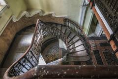 La Villa della Seducente Scala (brucewayne_86) Tags: urbex urban explorer staircase scala abbandono decay abandon beautiful luxury decadence villa beauty long exposure edificio