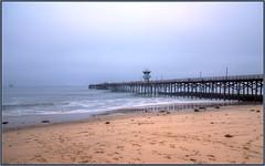 Overcast Summer Days (tdlucas5000) Tags: sealbeach pier california ocean sigma24105 hdr photomatix seascape seal beach