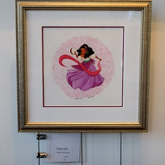 Disneyland Visit 2017-6-25 - Downtown Disney - WonderGround Gallery - Esmeralda by Nidhi Chanani (drj1828) Tags: disneyland visit 2017 downtowndisney wondergroundgallery artwork art