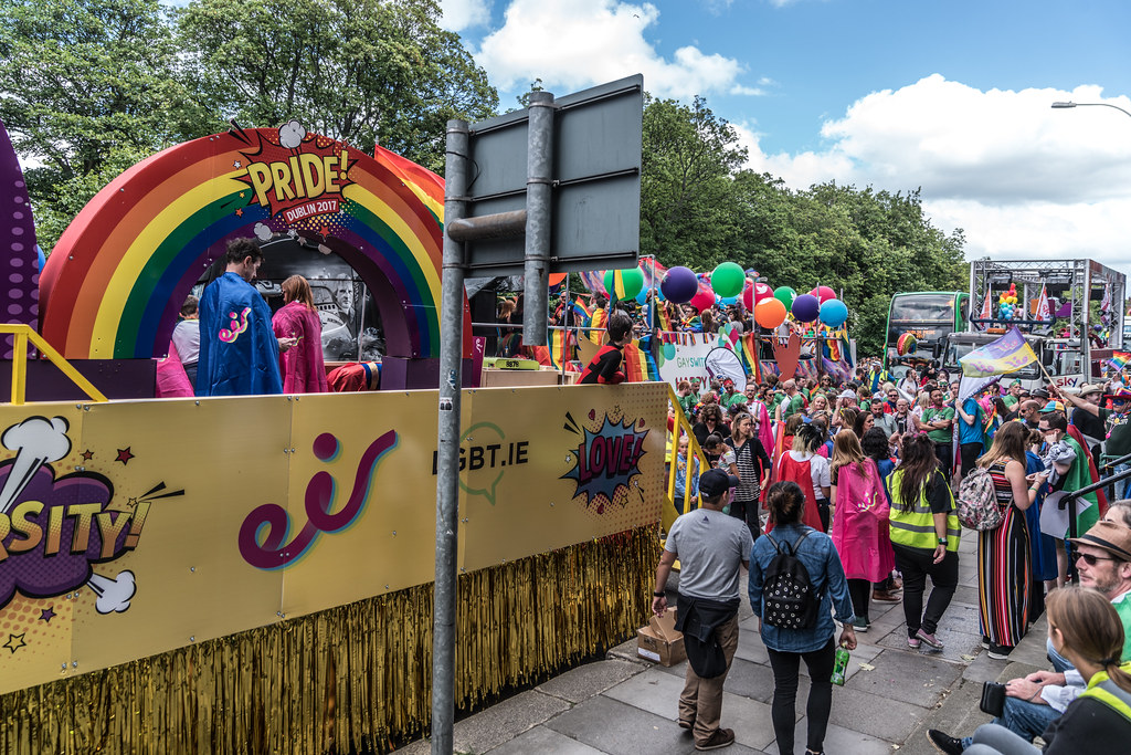 LGBTQ+ PRIDE PARADE 2017 [STEPHENS GREEN BEFORE THE ACTUAL PARADE]-129956