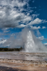 Great Fountain Geyser eruption