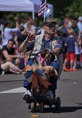 Veteran (swong95765) Tags: veteran retired parade soldier independanceday proud serviceman ride dog