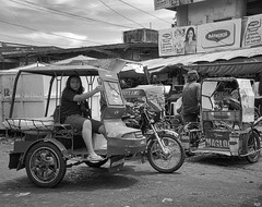 Parking (Beegee49) Tags: street market parking tricycles filipina bacolod city philippines