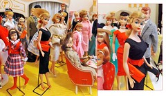 NEW GAL IN TOWN (ModBarbieLover) Tags: barbie 1964 swirl ponytail vintage fashion shop pak pencilskirt playsuit doll allan skipper 1963 moviestar 1950s 1960s