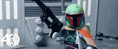 9. Boba Fett (kyle.jannin) Tags: lego legostarwars starwars star wars a new hope episode iv 4 40 anniversary celebration boba fett deathstar hallway