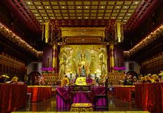 Inside of Buddhist pagoda in Singapore (phuong.sg@gmail.com) Tags: ancient architecture art asia asian beautiful buddha buddhastatue buddhism buddhist buddhistmonk buddhisttemple culture faith famous historic interior landmark monk old pagoda ravel religion sacred serene singapore southeastasia spiritual taipei taiwan temple tiengiangprovince tourism traditional tranquil tranquility vietnam worship