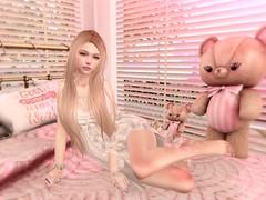 [Lomomo] Lace dress 6-30-2017 (kyashieru0222) Tags: lomomo sl secondlife lacedress