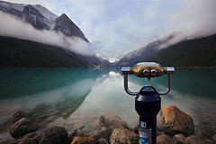 Yours to Explore (lfeng1014) Tags: yourstoexplore lakelouise rockymountains alberta canada happy150canada banffnationalpark nationalparkscanada landscape lake reflection misty canadianrockies travel lifeng canoneos5dmarkiii ef1635mmf28liiusm parkcanada