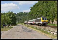 CFL 3005 - IC 116 (Spoorpunt.nl) Tags: 18 juni 2017 cfl 3005 nmbs i10 rijtuigen intercity 116 trein esneux ic