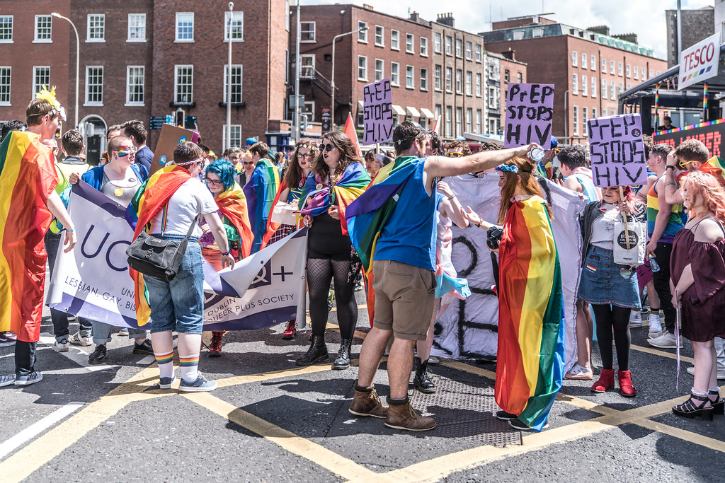 LGBTQ+ PRIDE PARADE 2017 [STEPHENS GREEN BEFORE THE ACTUAL PARADE]-129870