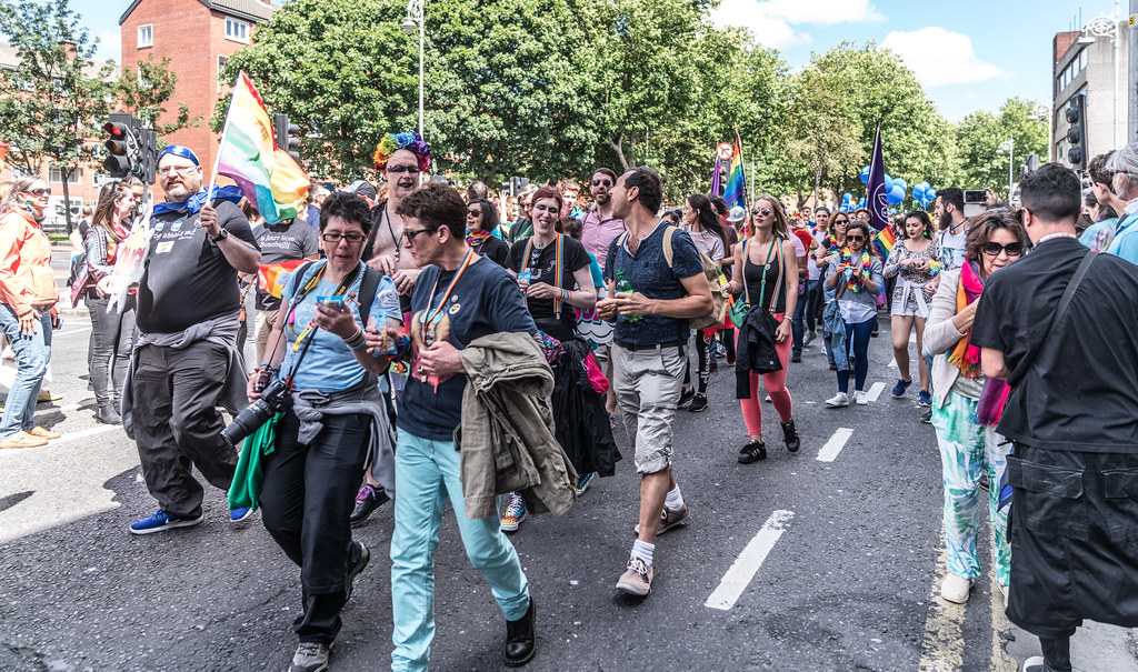 LGBTQ+ PRIDE PARADE 2017 [ON THE WAY FROM STEPHENS GREEN TO SMITHFIELD]-130097