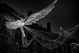 Angels Of Regents Street London by Simon & His Camera