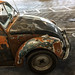 Rusted Volkswagen Beetle - Culver City, CA