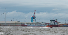 Northern Ocean (frisiabonn) Tags: vehicle ship water wirral liverpool england uk britain marine vessel river mersey merseyside sea shore waterfront maritime boat outdoor northern ocean pilot launch petrel pv oil chemical tanker