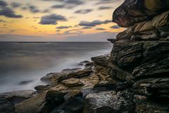 Coogee away (Regis Lampert) Tags: coogee australia sunset overview beach rockpool