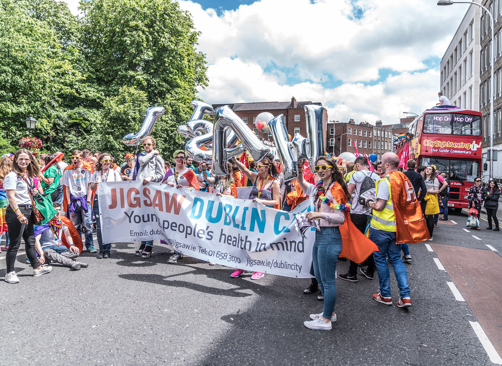 LGBTQ+ PRIDE PARADE 2017 [STEPHENS GREEN BEFORE THE ACTUAL PARADE]-129886