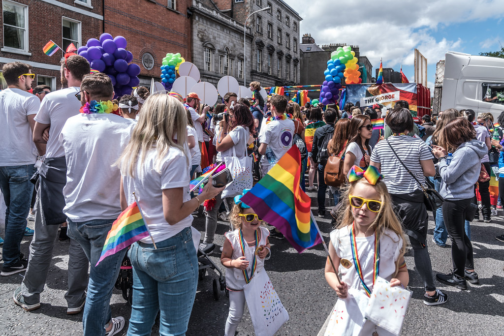 LGBTQ+ PRIDE PARADE 2017 [STEPHENS GREEN BEFORE THE ACTUAL PARADE]-129923
