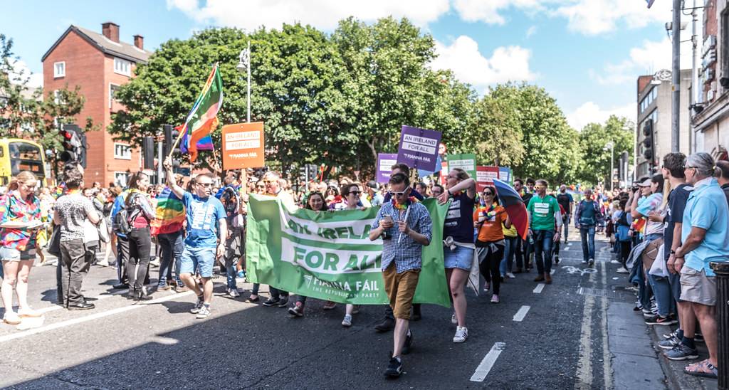LGBTQ+ PRIDE PARADE 2017 [ON THE WAY FROM STEPHENS GREEN TO SMITHFIELD]-129976