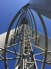 Glasgow Tower (markshephard800) Tags: engineering metal modern architecture angles glasgowtower tower scotland glasgow