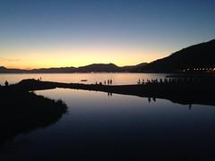 Quiet (maicholschinello) Tags: sunset italy tramonto pace baia mare quiet sea