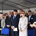 Áder János köztársasági elnök és felesége, Herczegh Anita, Kövér László, az Országgyűlés elnöke, Borkai Zsolt polgármester (az első sorban, b-j), valamint Harrach Péter, a KDNP frakcióvezetője és feleséges, Csilla asszony (b)