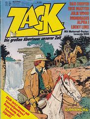 ZACK / 1978 Nr. 2 (micky the pixel) Tags: comics comic heft koralleverlag zack hermann hermannhuppen comanche reddust wildwest