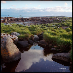 Late evening at the Atlantic Ocean_Rolleiflex 2.8F (ksadjina) Tags: 6x6 c41 carlzeissplanar80mmf128 kodakportra400 mai2017 nikonsupercoolscan9000ed norway rolleiflex28f silverfast vigra analog film scan spring