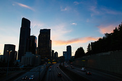 Seattle Sunset 7/3/17 - 05 ([Katsumi]) Tags: canon6d canon24105mmf4l seattle washington pacificnorthwest pnw northwestisbest sunset city cityscape sky skyline downtown
