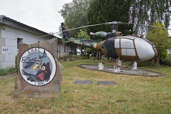 1st Regiment d'Helicoptieres du Combat (nxgphotos) Tags: gazelle sa341 phalsbourg camplahorie frencharmy alat preserved helicopter 1rhc
