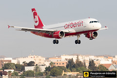 Airbus A320 Air Berlin D-ABFO (Ana & Juan) Tags: airplane airplanes aircraft airport aviation aviones airbus aviación a320 airberlin landing alicante alc leal spotting spotters spotter planes canon closeup