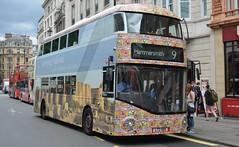 LT159 - RTP - 9 Hammersmith (Gellico) Tags: lt159 nrm nbfl london bus 9 hammersmith all over advert emerging pakistan