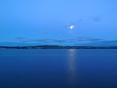 River Tay Blue Hour (eric robb niven) Tags: ericrobbniven scotland dundee blue hour landscape rivertay walking summer