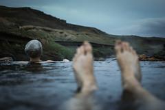 Reykjadalur - Iceland (Karol Majewski) Tags: mountains landscape nature krajobraz natura góry iceland island islandia meadow grass trawa łąka hot spring źródło geotermia reykjadalur evening wieczór bathing stream river rzeka valley dolina