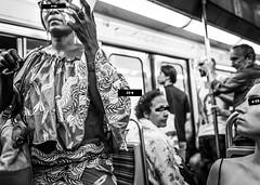 4 regards croisés - Paris (Remy Carteret) Tags: tube metro mairiedeslilaschâtelet ligne11 ratp paris parisien parisienne parisiennes parisiens train trains voyage voyageur voyages voyageurs canon 5d mkii mk2 markii france eos remycarteret rémycarteret canon5dmarkii canon5dmark2 canoneos5dmarkii canoneos5dmark2 5dmark2 5dmarkii mark2 canon5d humains human noiretblanc bw blackandwhite nb