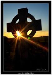 ... on the Celtic Ray! (Oul Gundog) Tags: celtic ray ballycran cross sunset ulster codown northern ireland