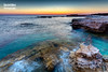 Summer Afternoon. (Andreas Iacovides) Tags: landscape seascape canon eos 5d mark iii pafos paphos peyia dusk waves sea ocean