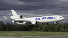 N545JN McDonnell Douglas MD-11F Western Global Anchorage 110617 (PrestwickAviationPhotography) Tags: freightdogs freighter anc anchorage panc westernglobal md11