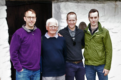 Bob Paton with sons James, Rob & Andrew (Cruck Cottage) Tags: revjamesgibsonpaton cruckcottage torthorwald dumfriesgalloway thatchedcottage history familyhistory newhebrides venuatu missionary paton patonfamilyhistory vanuatu blackbirding protestantmissionary tanna abolitionofslavery scotland cannibalism christianity reformedpresbyterianchurch boroondara