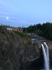 moonrise over the Salish (MissLydia) Tags: summer 2017 wastate waterfall snoqualmie nature theowlsarenotwhattheyseem july twinpeaks northbend staycation fallcity snoqualmiefalls