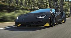 Centenario - GTA V (Stellasin) Tags: game gaming car gta gtav photography blur screenshot sunset motion